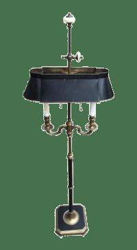 Tole Bouillotte Style Floor Lamp | Chairish