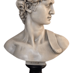 Sofa Frames For Upholstery Best Sectional Small Living Room Plaster Bust Of David | Chairish
