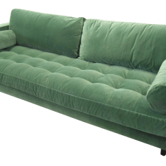 Green Velvet Tufted Chair Personalized Chairs For Baby Grass Sofa Chairish