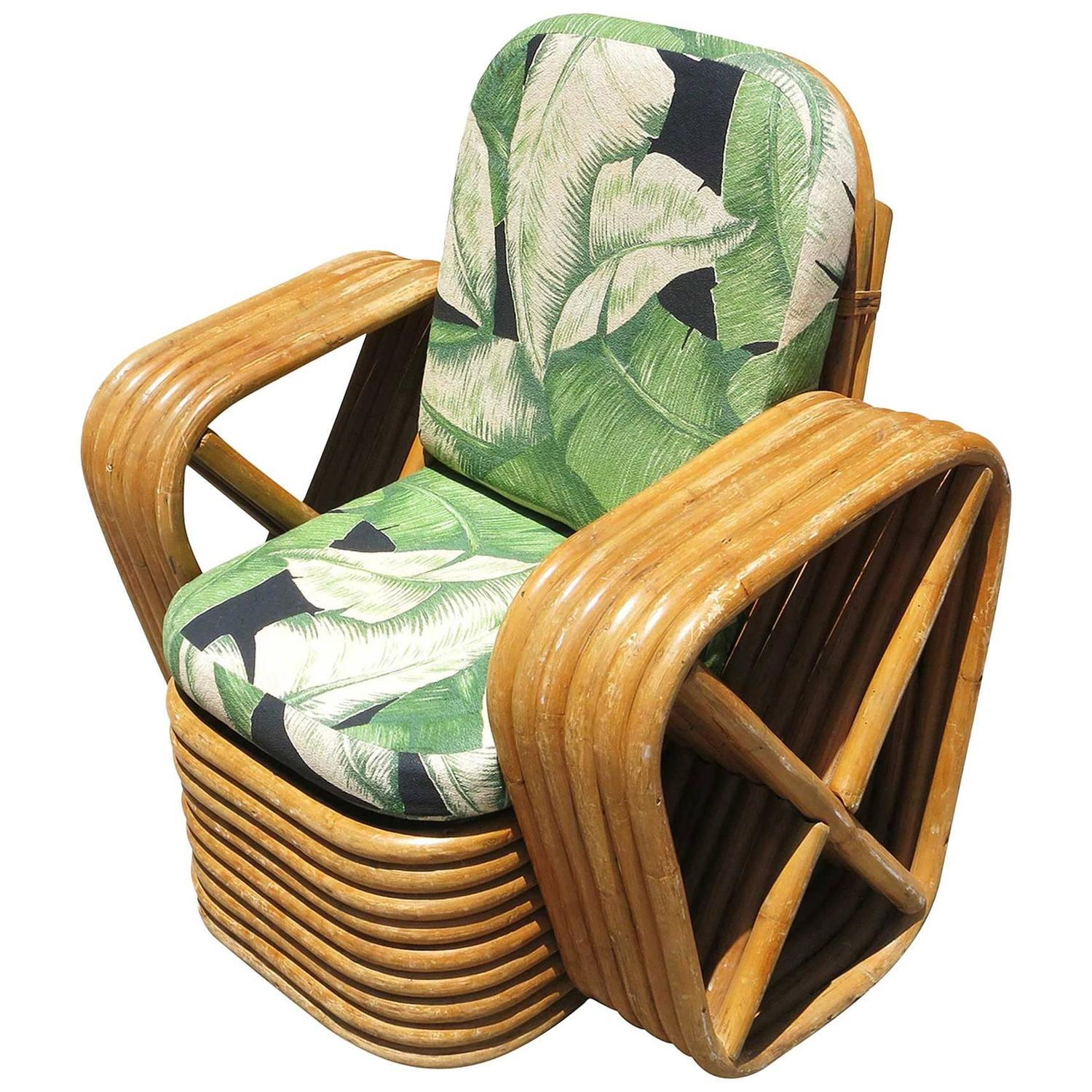 Pretzel Chair Paul Frankl Child 39s Pretzel Rattan Lounge Chair Chairish