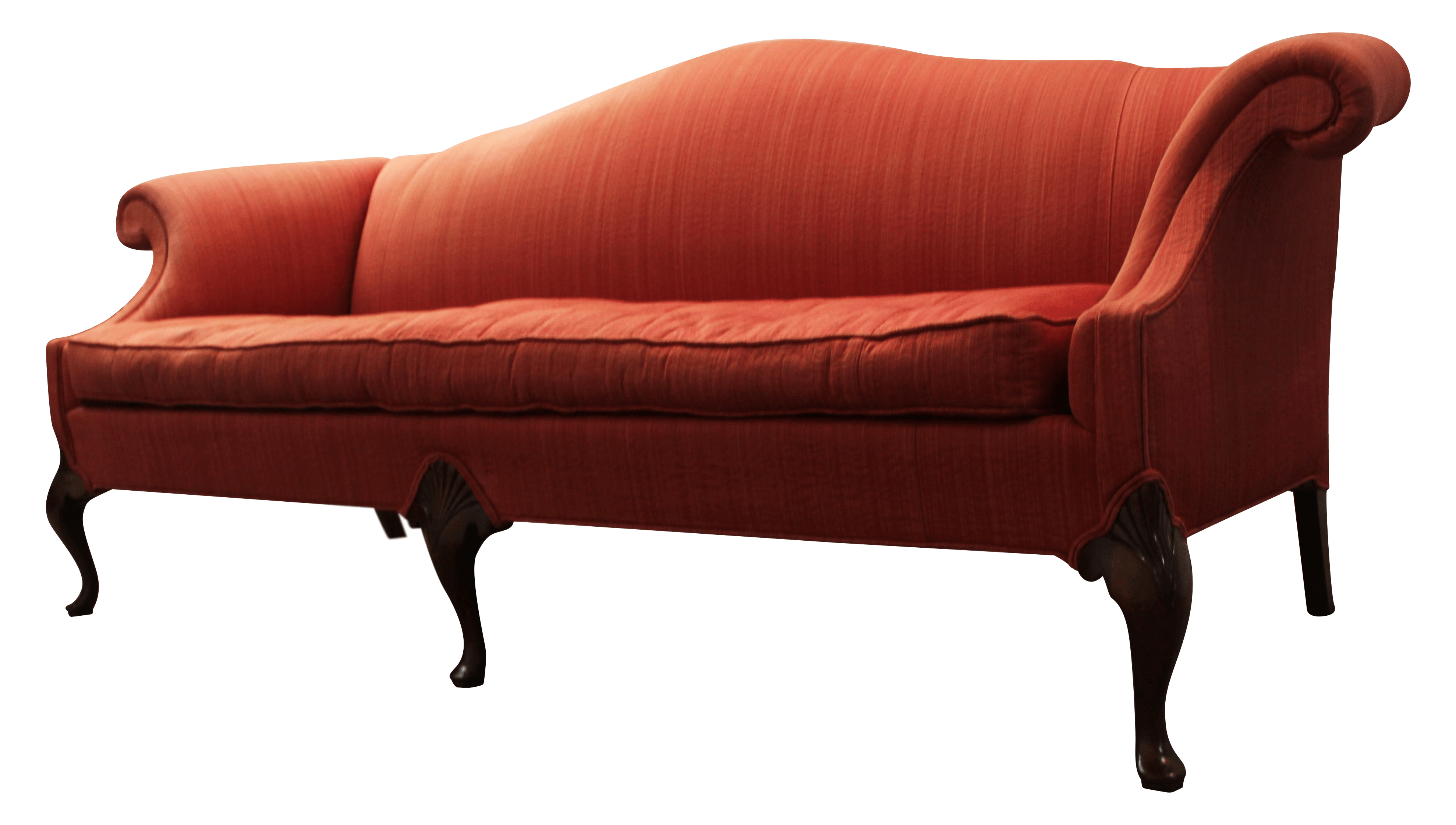 camel tufted sofa chaise retro sofas uk hickory chair co seat back chairish