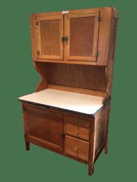 1930s Antique Hoosier Kitchen Cabinet | Chairish