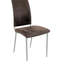 Purple Upholstered Dining Chairs Balance Ball Chair Base Contemporary Velvet Side Chairish