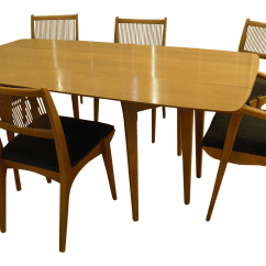 Kitchen Tables Art Van Couch Drexel Heritage Drop Leaf Sofa Table And Chairs By John