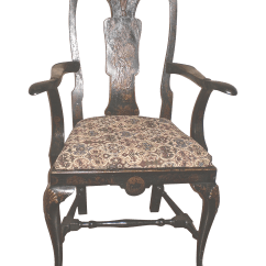 Antique Queen Anne Chair Mid Century Wire Style Chairish