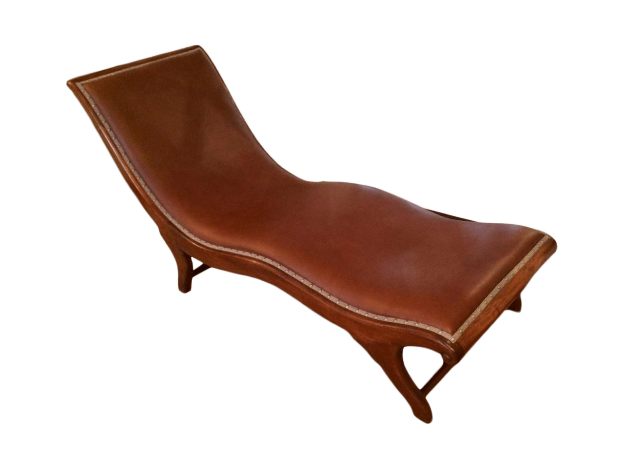 long lounge chair cover sashes mid century leather chairish