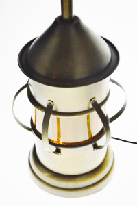 Vintage Lantern Style Table Lamp | Chairish