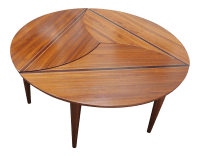 David Levy Modern Puzzle Coffee Table | Chairish