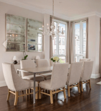Restoration Hardware Dining Chairs - Set of 8 | Chairish