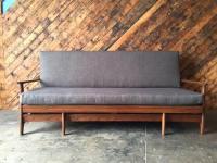 Mid Century Transforming Sofa Bed | Chairish