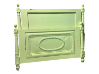 Shabby Chic Bed-Frame | Chairish