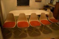 Burke Mid-Century Modern Dining Table & Propeller Base ...