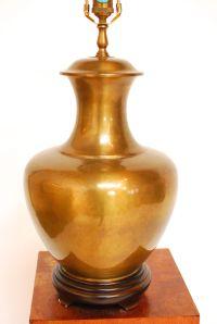 Brass Chinoiserie Ginger Jar Lamp | Chairish