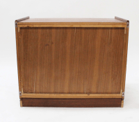 Mid-Century Norwegian Wall Display Cabinet | Chairish