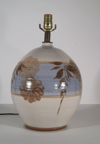 Vintage California Pottery Table Lamp | Chairish