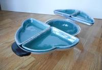 Vintage Mid-Century Modern Lazy Susan Serving Dish | Chairish