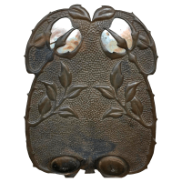 Vintage Bronze Arts & Crafts Wall Sconce | Chairish