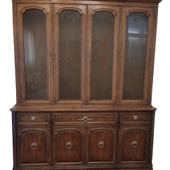 French Club Chairs For Sale Cafeteria Tables With Attached Henredon Breakfront China Cabinet | Chairish