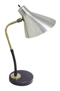 1950s Laurel-Style Articulating Desk Lamp | Chairish