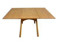 Mid-Century Maple Drop Leaf Dining Table | Chairish