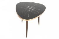 Atomic Mid-Century Side Table   Chairish