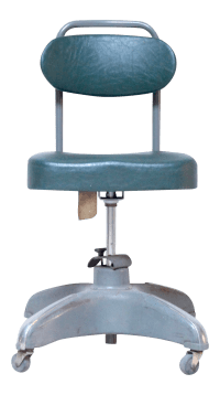 1940's Industrial Swivel Desk Chair