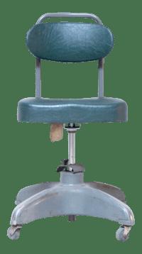 1940's Industrial Swivel Desk Chair
