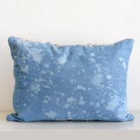 Moroccan Handira Wedding Blanket Pillow V | Chairish