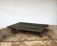 Vintage Railroad Cart Coffee Table