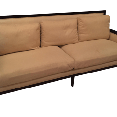 Cleaning Down Filled Sofa Cushions Reupholstery Cost A. Rudin Contemporary | Chairish
