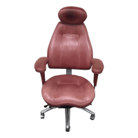 Relax the Back Ergonomic Burgundy Office Chair