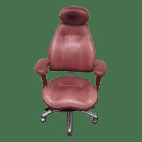 Relax the Back Ergonomic Burgundy Office Chair