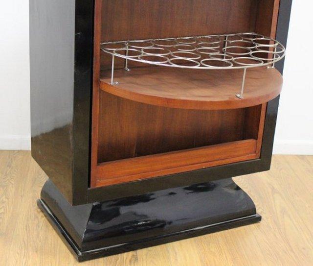the revolving chair miami covers morecambe art deco bar cabinet | chairish