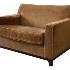 Custom Sofa Maker Los Angeles Laura Ashley Brown Leather Bed Gently Used Holly Hunt Furniture | Up To 70% Off At Chairish
