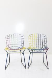 Knoll Bertoia Child Size Chairs Multi - Set of 4 | Chairish