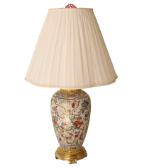 Frederick Cooper Floral Table Lamp | Chairish
