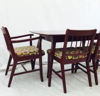 Vintage Mid-Century Drexel Dining Table & 6 Chairs | Chairish