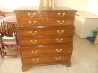 Baker Furniture Historic Charleston Triple Chest