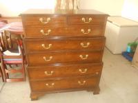 Baker Furniture Historic Charleston Triple Chest | Chairish
