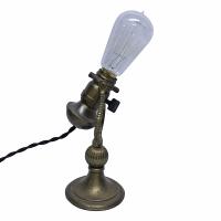Vintage Brass Desk Lamp   Chairish
