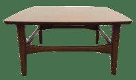 Mid Century Modern Laminate Top Walnut Table | Chairish