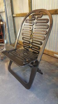 Laminated Plywood Lounge Chair by Gregg Fleishman | Chairish