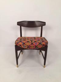 Selig Mid-Century Modern Restored Chair | Chairish