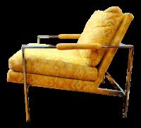 Mid-Century Modern Milo Baughman Chrome Lounge Chair ...