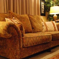 Bernhardt Sofas Stylish Sofa Bed New Vintages Collection Floral Upholstered ...