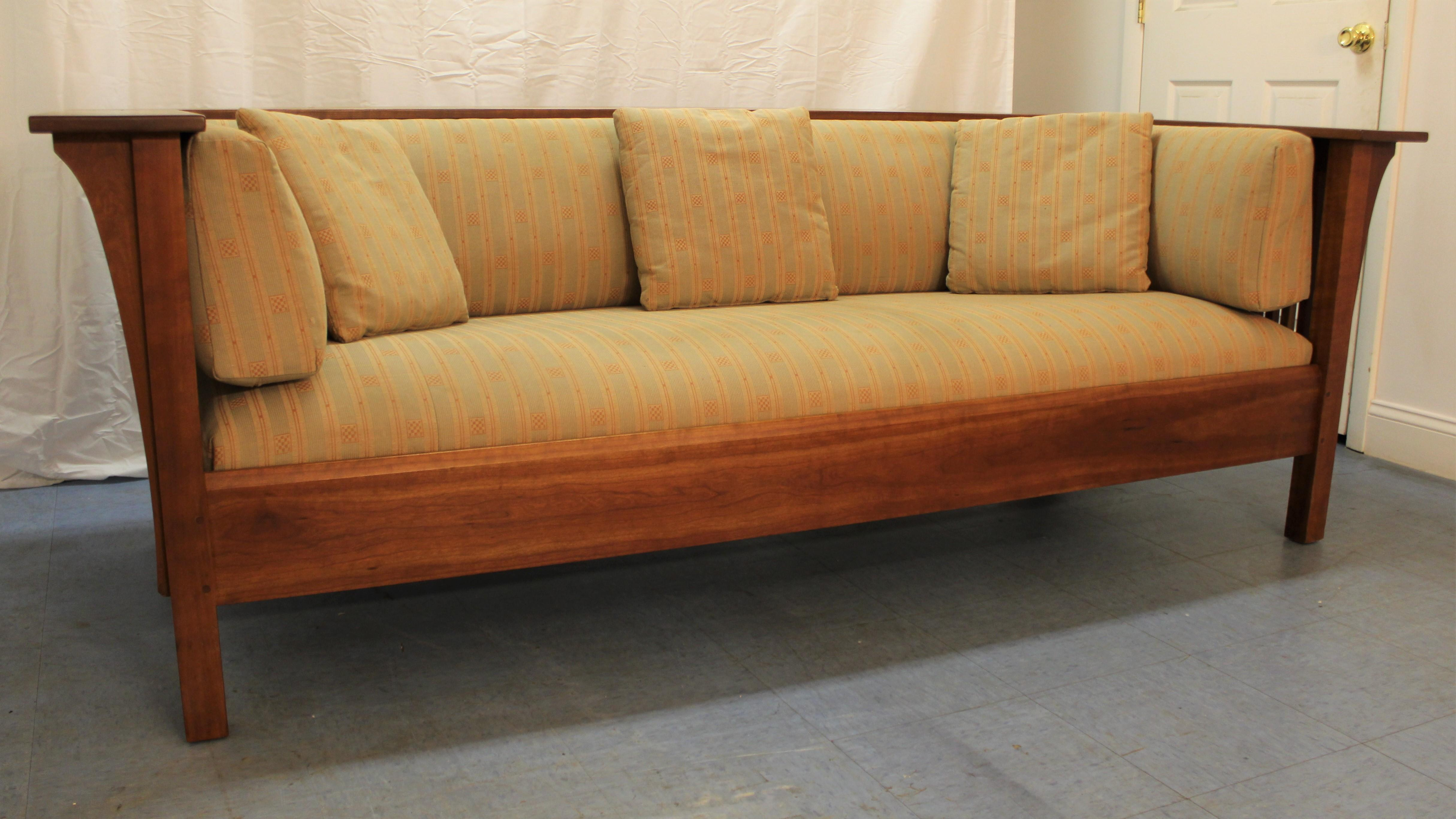 stickley sleeper sofa sofas natuzzi compra online arts and crafts style mission ...