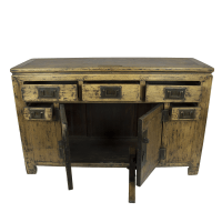 Distressed Chinese Sideboard | Chairish