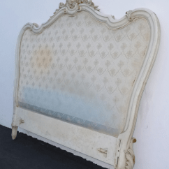 Hickory Chair Louis Xvi Pink Camping Antique French Provincial Rococo Headboard & Footboard Bedframe | Chairish