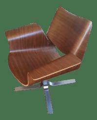 Mid-Century Modern Butterfly Chair | Chairish