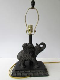 Elephant Lamp | Chairish